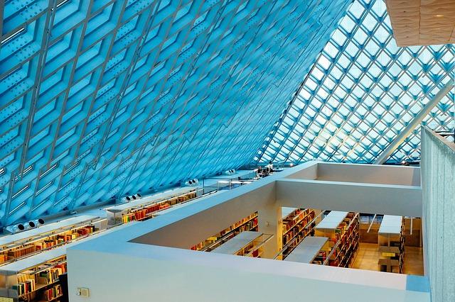 Bilde av bibliotek
